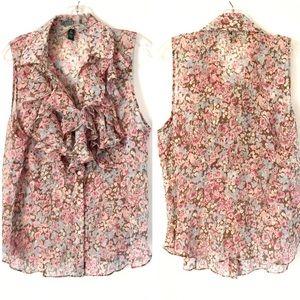 ⭐️ LAUREN Ralph Lauren ⭐️ Romantic Floral Blouse